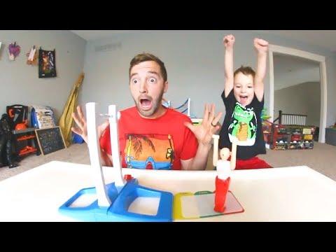 Father & Son PLAY FANTASTIC GYMNASTICS!