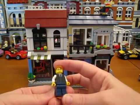 Lego Creator Set 31026 Bike Shop & Cafe Review!!!