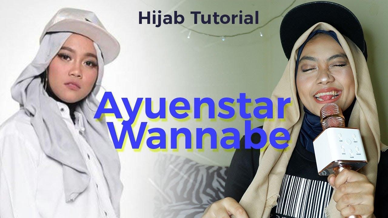 Tutorial Hijab Simpel Pake Topi I Ayuenstar Wannabe Youtube