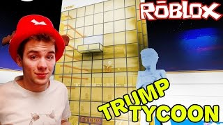 The LARGEST WALL of the hotel! TRUMP TYCOON! | ROBLOX #145
