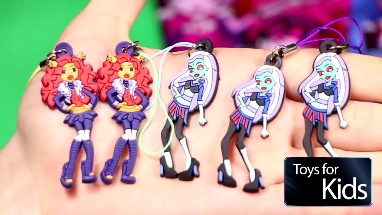 МОНСТР ХАЙ / Monster High киндер сюрпризы игрушки - YouTube