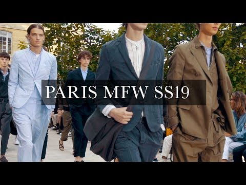 Men's Fashion Week Paris SS19 | Ami, Cerruti 1881, Hermes, Officine Generale, Lanvin