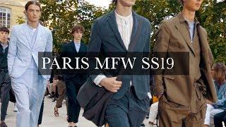 Men's Fashion Week Paris SS19 | Ami, Cerruti 1881, Hermes, Officine Generale, Lanvin