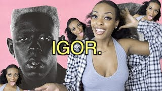 First time EVER listening to Tyler The Creator IGOR Album Reaction