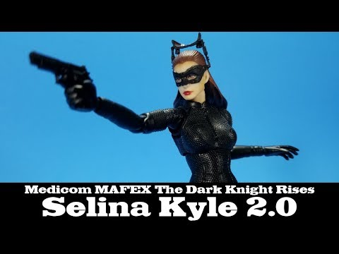 MAFEX No.009 The Dark Knight Trilogy Selina Kyle Catwoman Action Figures