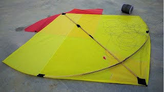 Big Kite Fly || How To Fly Kite || Kite Also Fly it || How To Kite Flying || Kite Fly Step By Step