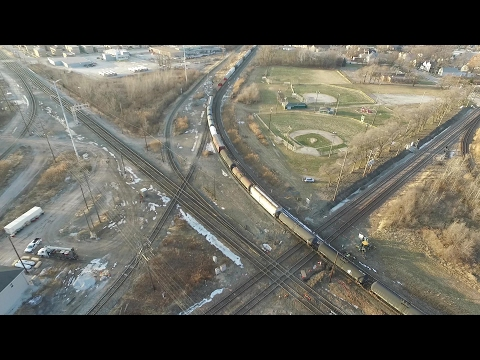 Drone Footage of Dolton IL Junction (PART 2 OF 2)