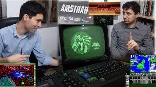 La Meca del Clásico - 10 - Amstrad CPC (Ordenador de cintas de cassette con monitor verde fósforo)