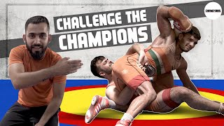 Ultimate Wrestling Challenge ft. Rohit Saluja & Abhishek Thakur Part2 | Challenge The Champions