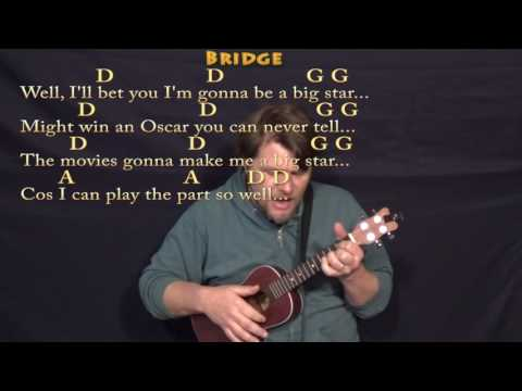 Act Naturally (The Beatles) Ukulele Cover Lesson with Chords/Lyrics
