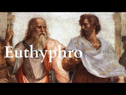 Plato | Euthyphro - Full Audiobook With Accompanying Text (AudioEbook)