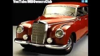 Mercedes-Benz - Types 300 and 300D (1951) W186