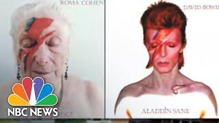 Nursing Home Residents Recreate Iconic Album Covers   NBC Nightly News
