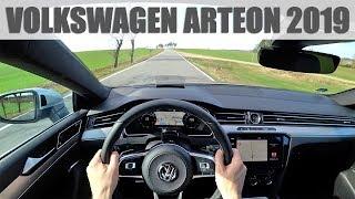 2019 Volkswagen Arteon 2.0 TSI, 4K POV TEST: Radost nejen na pohled!