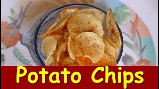 Homemade Potato Chips in Kannada | Crispy Potato Chips| Alugadde chips| Snack Recipes