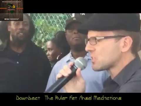Downbeat The Ruler fet Ansel Meditations@Coney Island Reggae On The Boardwalk(9-3-17)