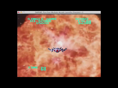 Astron Belt (1983 Laserdisc Arcade Game)