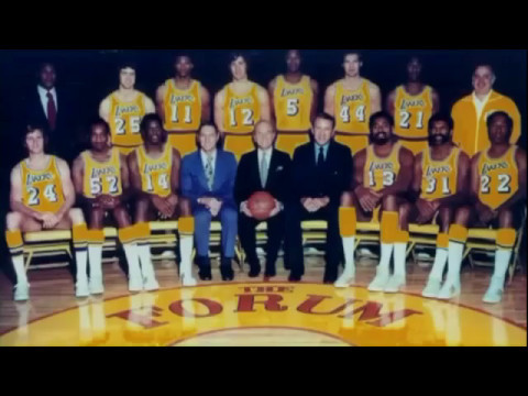 1972 Los Angeles Lakers   Touched By Gold