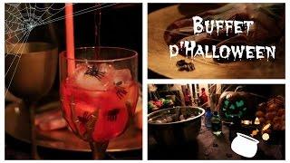 Buffet d'Halloween 🎃