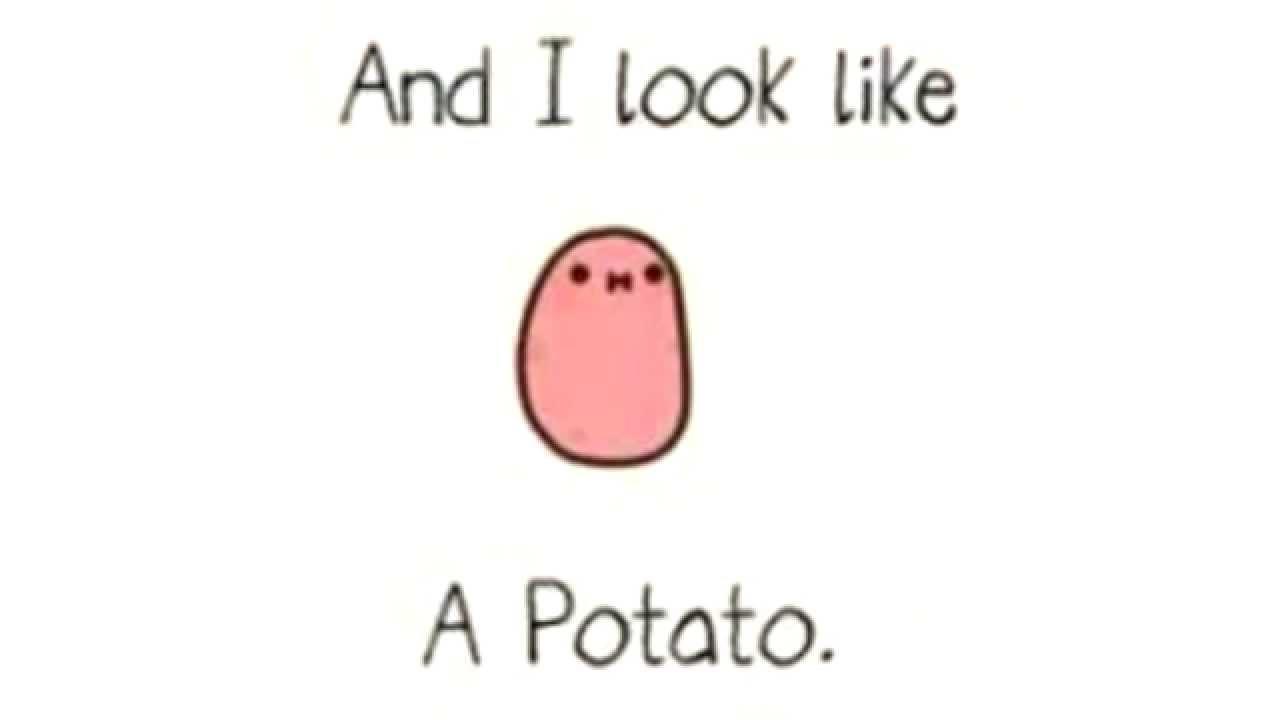 Cartoon Fall Wallpaper I M A Kawaii Potato Youtube
