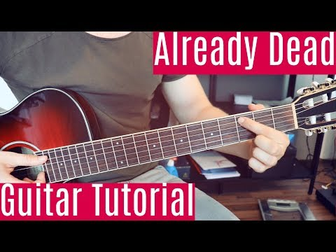 Already Dead (Omae Wa Mou) - Lil Boom & Deadman | Guitar Tutorial/Lesson | How To Play (Fingerstyle)