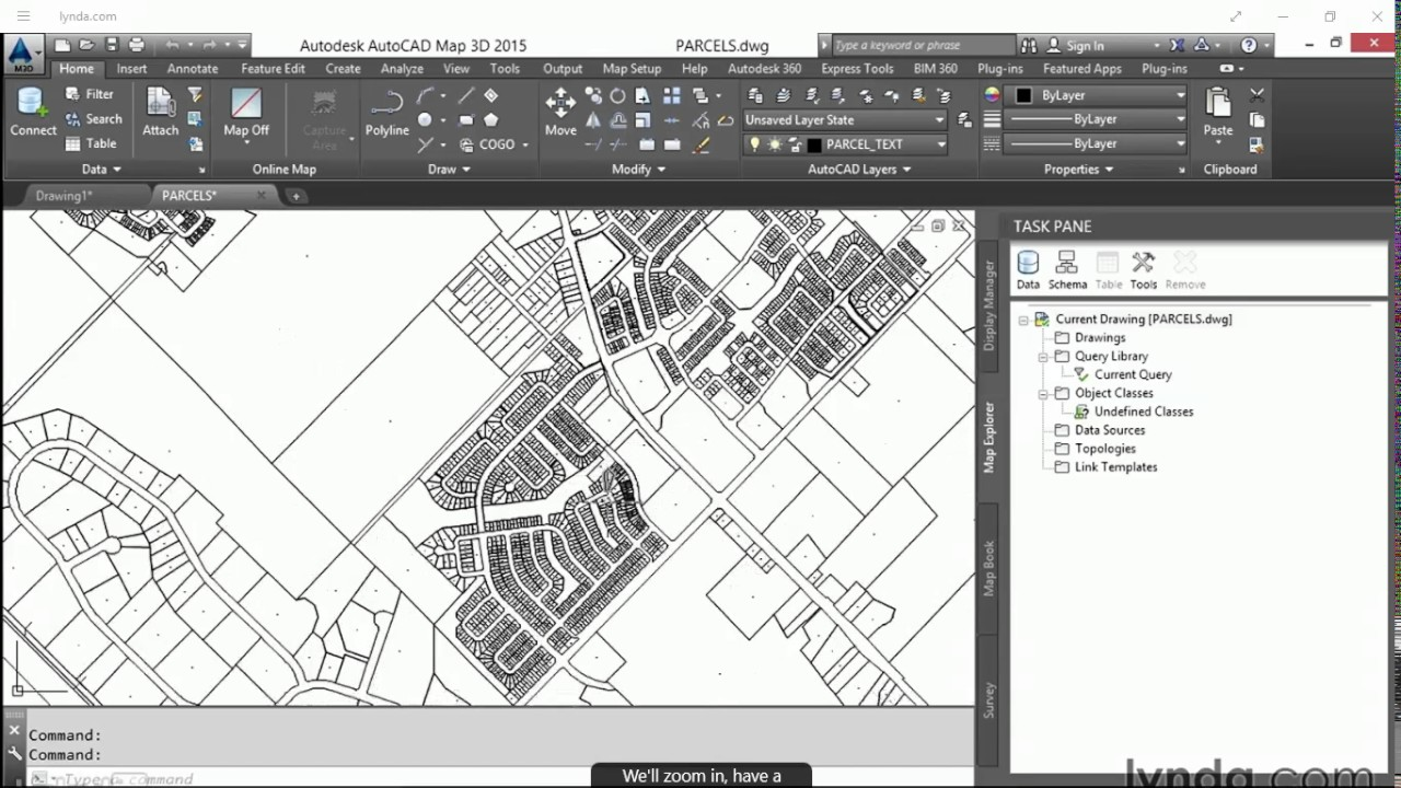 Autocad map 3d essential training 1 youtube autocad map 3d essential training 1 sciox Images