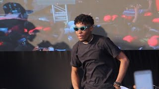 Joeboy Performs His Hit Sing quotBabyquot For The First Time In Laspotech