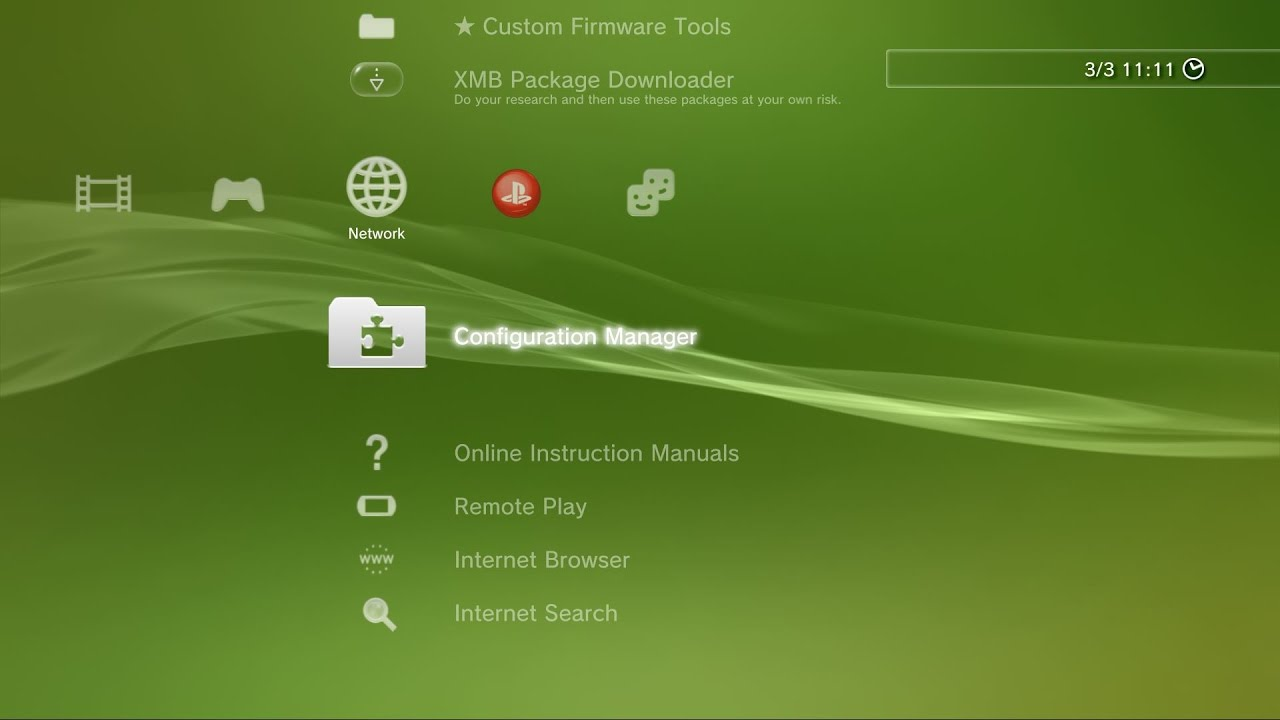 PS3 - Configuration Manager v0 20 (by DeViL303): Several new
