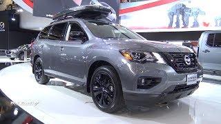 2018 Nissan Pathfinder Midnight Edition - Exterior And Interior Walkaround