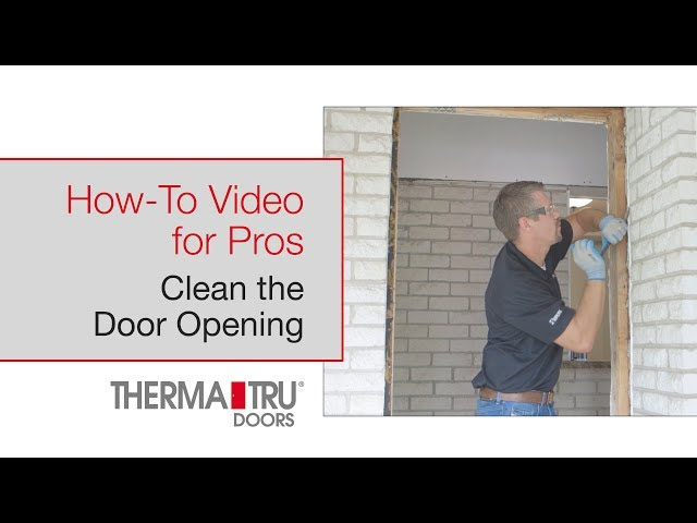 How-To for Pros: Clean the Opening