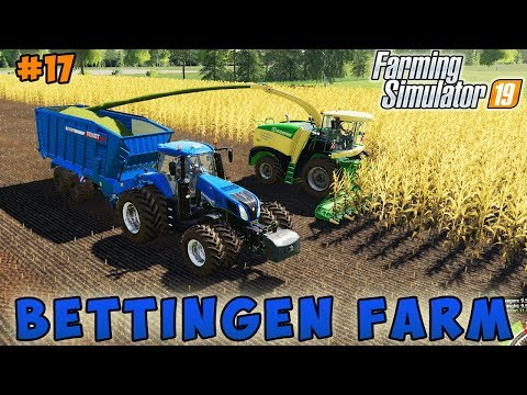 Farming simulator 19 | Bettingen Farm | Timelapse #17 | Chopping corn silage thumbnail