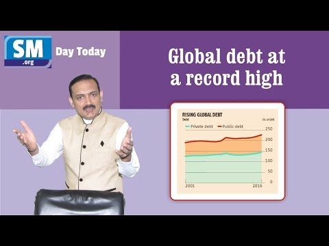 Day Today # 23 - Global debt at a record high