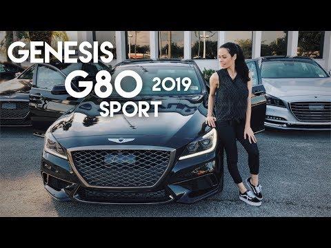 G80 Sport 2019 conhe a o SED com pegada ESPORTIVA da GENESIS, divis o de luxo HYUNDAI