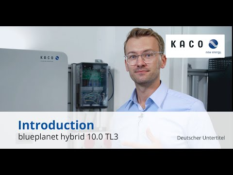 Introduction to the blueplanet hybrid 10.0 TL3  inverter