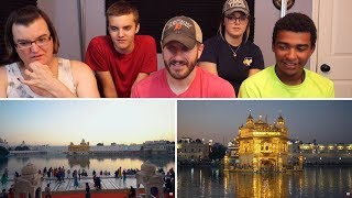 THE GOLDEN TEMPLE REACTION! | AMRITSAR, INDIA