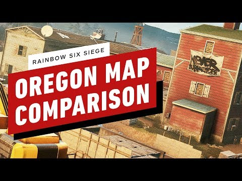 Rainbow Six Siege: Oregon Map Comparison