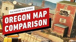 Rainbow Six Siege: Oregon Map Comparison