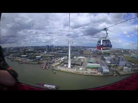 East London Walking Tour and Emirates cable car experience