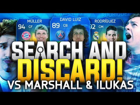 Crazy 3 Way Search And Discard - Amazing FIFA 15 TOTS Discards W/  iLukasx100 & Marshall89HD