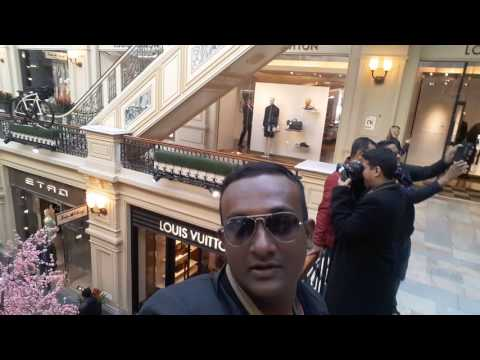 Gym mall at Kremlin red square Moscow