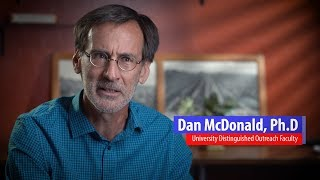 2017 University Distinguished Outreach Faculty – Daniel McDonald