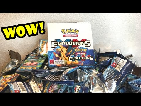 I PULLED IT!!! - Opening a POKEMON EVOLUTIONS BOOSTER BOX!