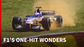 8 F1 drivers who only started one grand prix