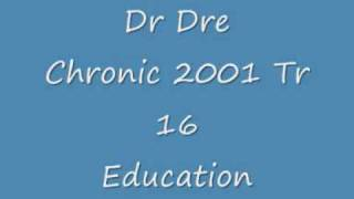 Dr Dre Chronic 2001 Education