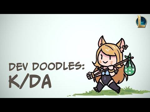 Dev Doodles: K/DA | League of Legends
