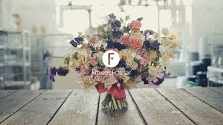 Baroque hand tied bouquet | Inspired by Florists | Giada Graziani