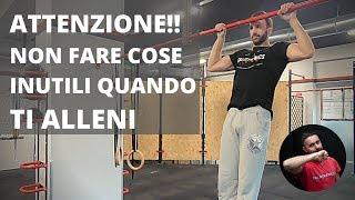 La Piramide Muscoli & Forza - Le priorità vs le Cose poco utili quando ti alleni