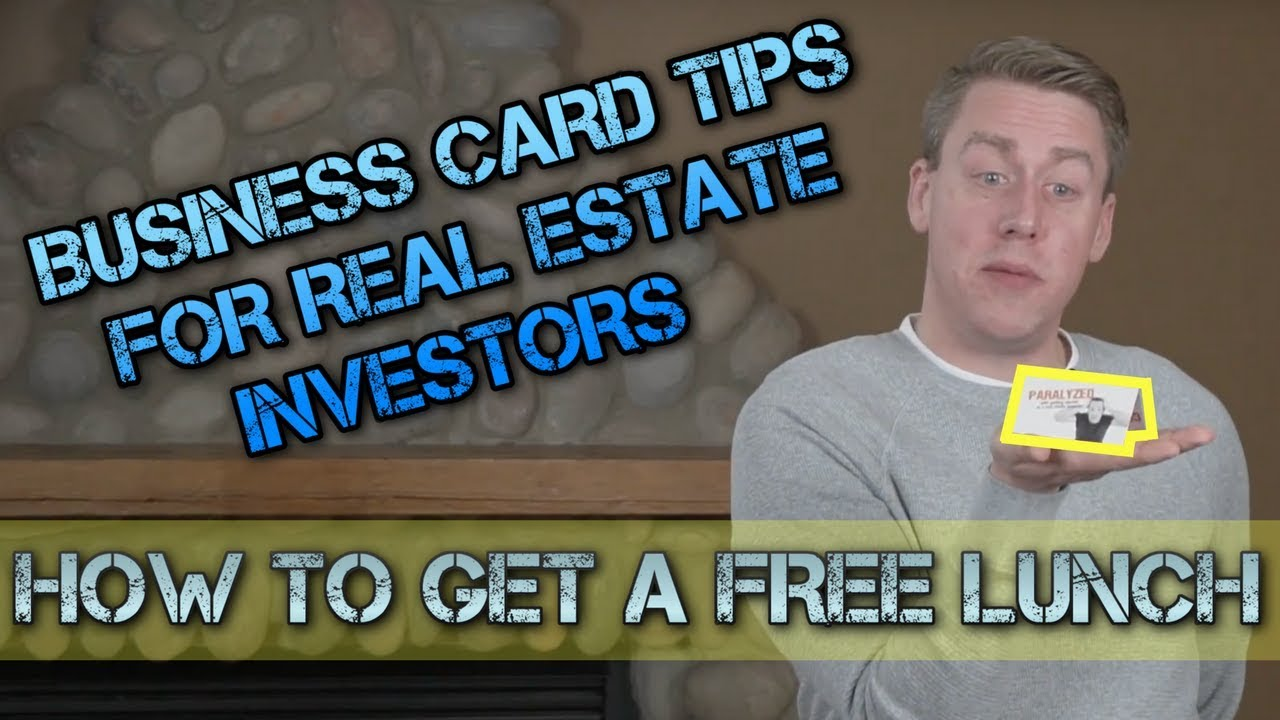 Business Cards For Real Estate Investors: Tips To Make A Memorable ...