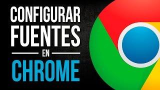 Arreglar Fuente en Algunas Paginas Chrome