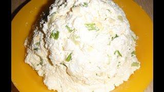 Салат из творога и яиц